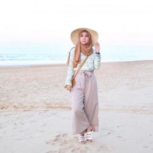 Style Hijab Untuk Ke Pantai
