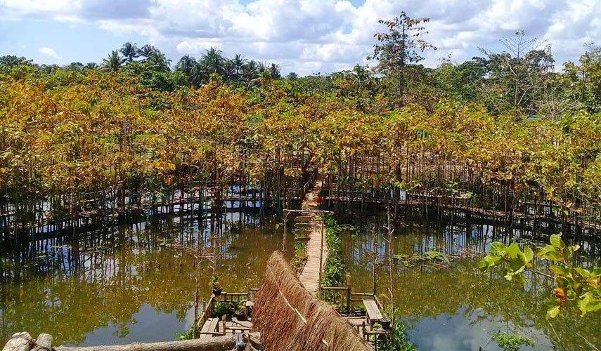 Danau Gempol di Kabupaten Muna Barat