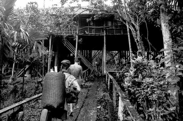 Rumah Betang Sungai Uluk Palin yang Kini Tinggal Kenangan