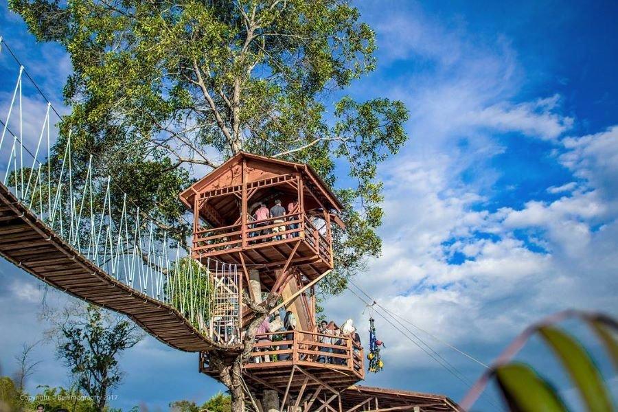 Rumah Pohon Bukit Chinangkiek Solok